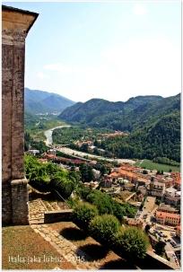 Widok na Varallo
