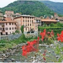Varallo Sesia rzeka Sesia