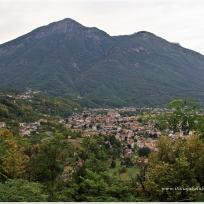 Widok z Sacro Monte w Domodossola