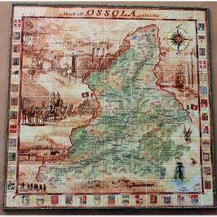 Mapa Ossola